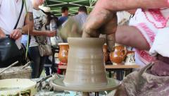 Artisans fair - stock footage