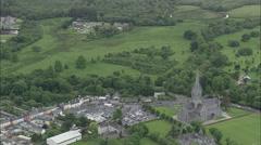 AERIAL Ireland-Killarney - stock footage