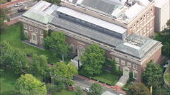 AERIAL United States-Havard University Stock Footage