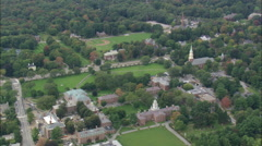 AERIAL United States-Andover And Phillips Academy Stock Footage