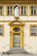 Schwarzenberg Palace Frickenhausen am Main Mainfranken Lower Franconia Stock Photos