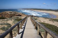 Bordeira Beach, Algarve,  Portugal - stock photo