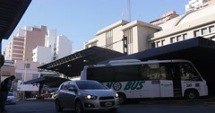 South Bus Terminal Market, Córdoba,Argentina Stock Footage
