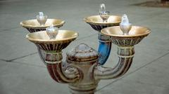 Drinking Fountain in Portland, Oregon Kuvituskuvat