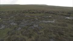 AERIAL United Kingdom-Saddleworth Moor - stock footage