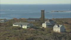 AERIAL United States-Appledore Island Stock Footage