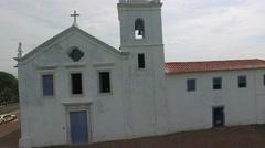The Church Igreja dos Reis Magos in Nova Almeida, Espirito Santo, Brazil Stock Footage