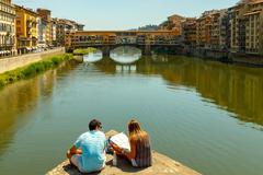Florence. Ponte Vecchio. - stock photo