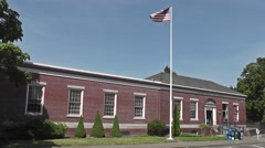 Post Office In Shelton From Left Hand Side Stock Footage
