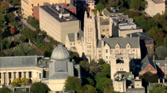 AERIAL United States-Yale University Stock Footage