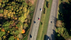 AERIAL United States-Intersection Of Routes 84 And 691 Stock Footage