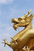 Sea dragon Sea Dragon Monument Phuket Thailand Asia - stock photo