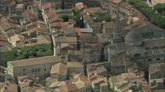 AERIAL France-Saint-Remy-De-Provence Stock Footage