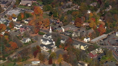 AERIAL United States-Durham Stock Footage