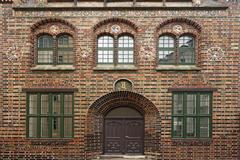 City Archive since about 1907 16th century Renaissance Rostock - stock photo