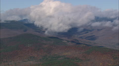 AERIAL United States-White Mountain National Forest Stock Footage