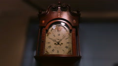 3881 Historic Grandfather Clock, 4K Stock Footage