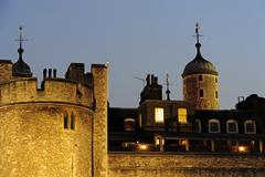Tower of London UNESCO World Cultural Heritage site London England United - stock photo