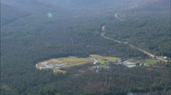 AERIAL United States-Adirondack Mountains And Blue Ridge Road 45 Stock Footage