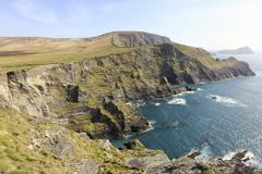 Kerry Cliffs Portmagee County Kerry Ireland Europe - stock photo