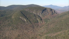 AERIAL United States-High Peaks In The Adirondacks 45 Stock Footage
