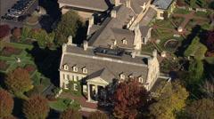 AERIAL United States-George Eastman House 60 Stock Footage