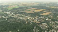 AERIAL Germany-Chemnitz Stock Footage