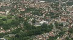 AERIAL Germany-Altenburg Stock Footage