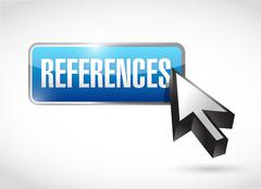 References button sign concept Stock Photos