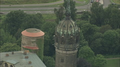 AERIAL Germany-Wittenberg Stock Footage