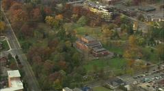 AERIAL United States-Saratoga Stock Footage