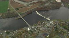 AERIAL United States-Stillwater 45 Stock Footage
