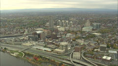 AERIAL United States-Albany 60 Stock Footage