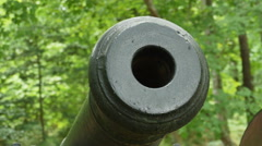 3894 Revolutionary War Cannon Close Up in America, 4K Stock Footage