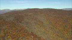 AERIAL United States-Catskill Mountains Stock Footage
