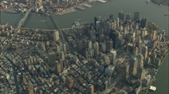 AERIAL United States-Ground Zero In 2008 45 - stock footage