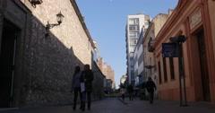 Caseros street Cordoba, Argentina Stock Footage