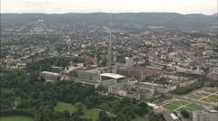 AERIAL Germany-Kassel Stock Footage