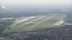AERIAL Germany-Tegel Airport Stock Footage
