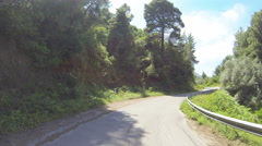 Mountain Road in Greece 07 Stock Footage
