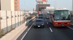 Tokyo Traffic - stock footage