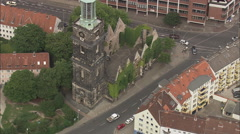 AERIAL Germany-Hanover Stock Footage