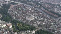 AERIAL Germany-Bremen Stock Footage