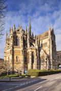 Cathedral Church of Our Lady and St Philip Howard Arundel West Sussex England - stock photo