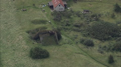 AERIAL Germany-Mellum Island Stock Footage