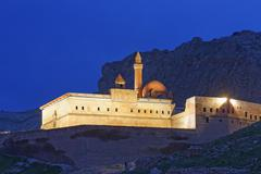 Stock Photo of Ishak Pasha Palace Dogubeyazit Agri province Eastern Anatolia Region Anatolia