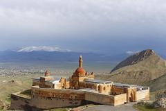 Stock Photo of Ishak Pasha Palace Dogubeyazit Agri province Eastern Anatolia Region Anatolia