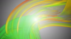 Colour paint spotted Stock Footage