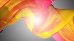 Yellow color wrap Stock Footage