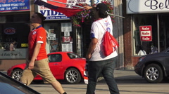 Chile Fans Celebrate Copa America 2015 Victory Over Argentina Stock Footage